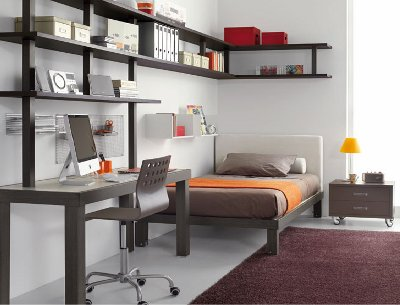 Modatips quieres pintar tu cuarto te damos unos tips - Escritorio para habitacion ...