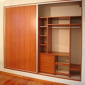 Frescocinas l neas de closet clasica frescocinas for Closet de madera para dormitorios
